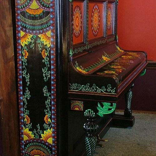 Piano bohemian gypsy style